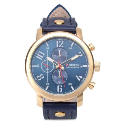 Blue Face Watch With Blue Belt 3