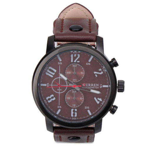 Brown Face Watch 1