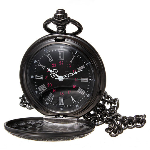 Pocket Watch And Chain 1