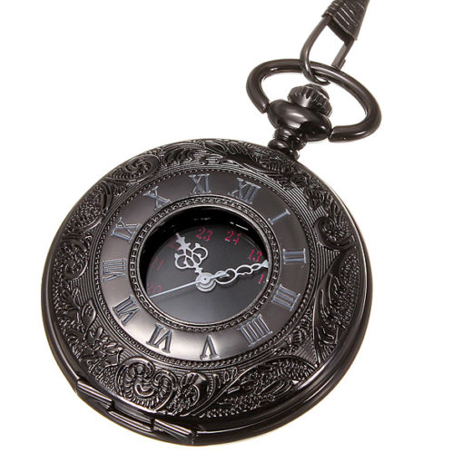 Pocket Watch And Chain 2