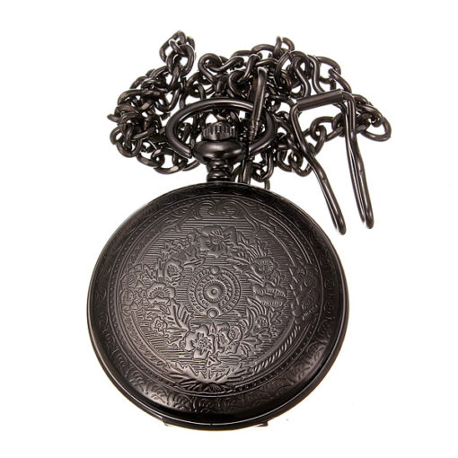 Pocket Watch And Chain 3