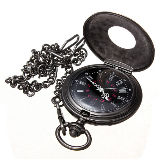 Pocket Watch And Chain 4