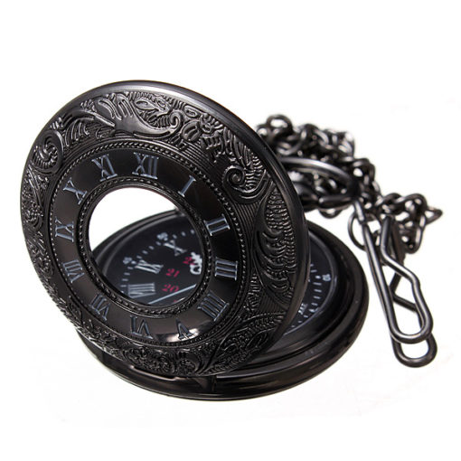 Pocket Watch And Chain 5