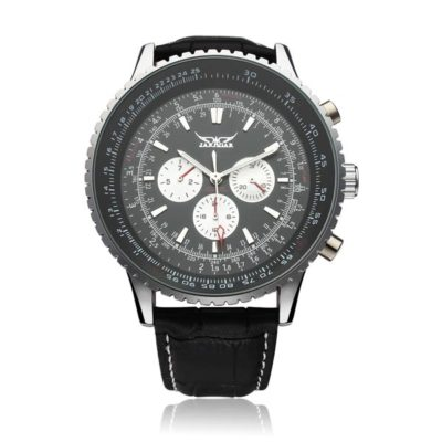 all black automatic watch