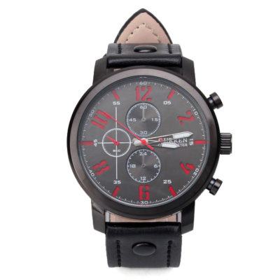 black and red mens watch 2