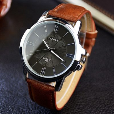 black face watch mens 1