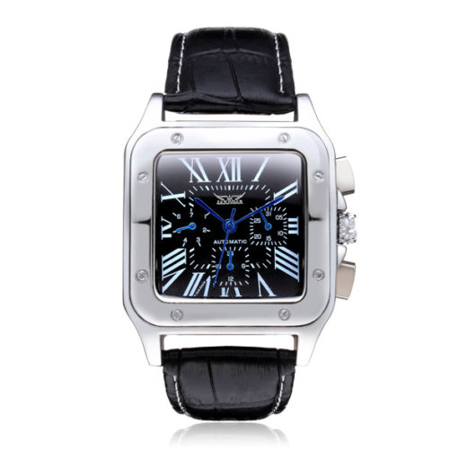 classic automatic watch black