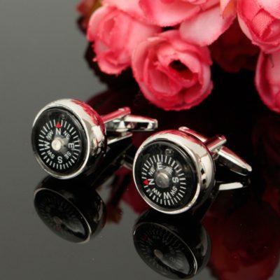 compass cufflinks 4