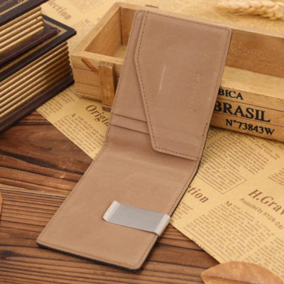 slim wallet with money clip 12