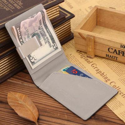 slim wallet with money clip 3