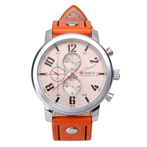 stylish Watch with rose face 1