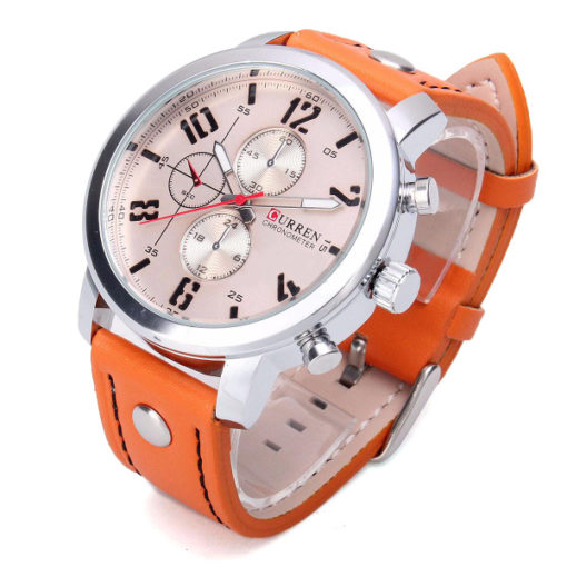 stylish Watch with rose face 2